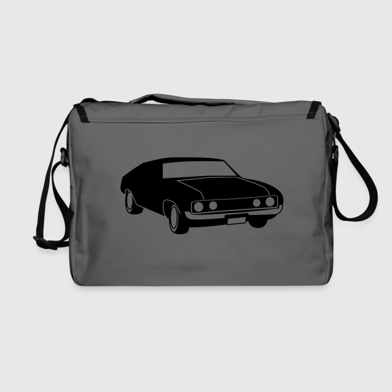 old vintage retro car Bags & backpacks - Shoulder Bag