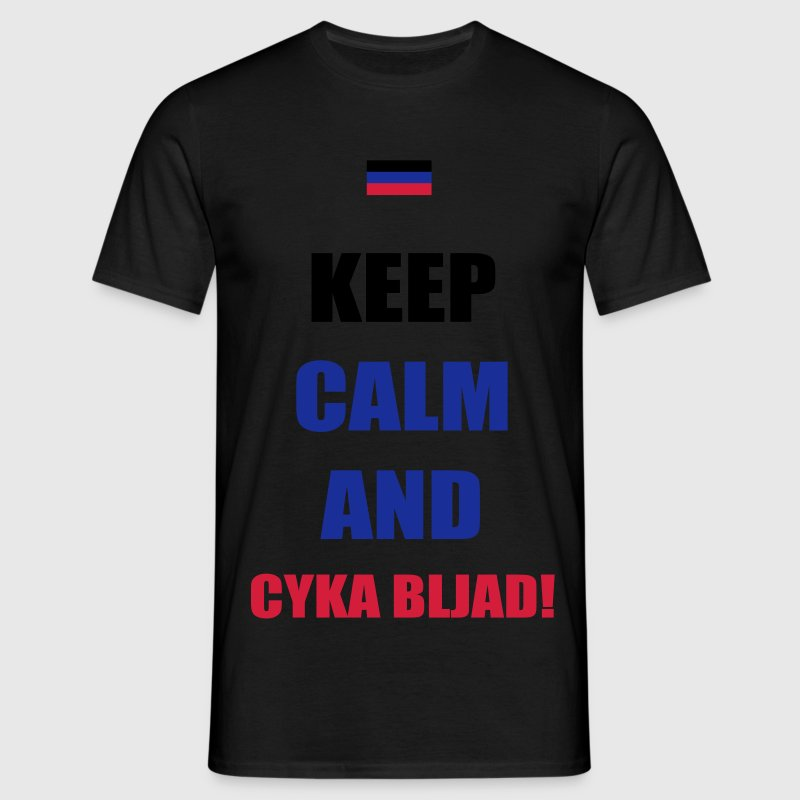 Keep Calm Russian Troll T-Shirts - Männer T-Shirt