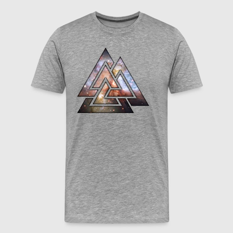 Cosmic Triangles T-Shirts - Premium T-skjorte for menn