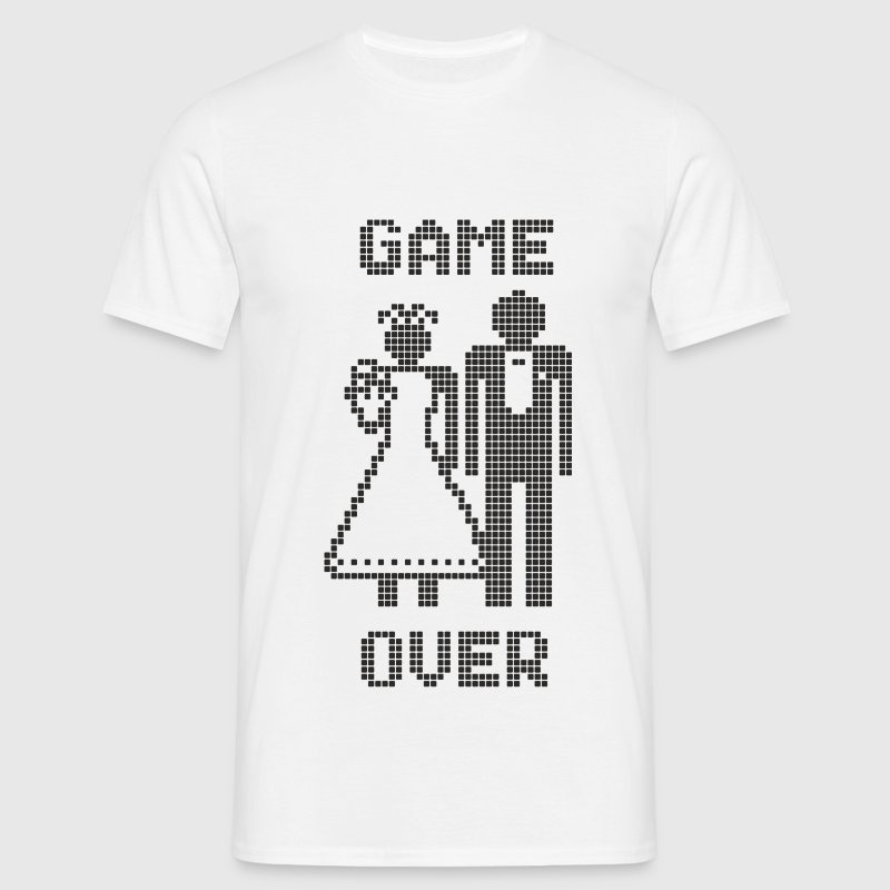 Game Over T-shirts - Mannen T-shirt