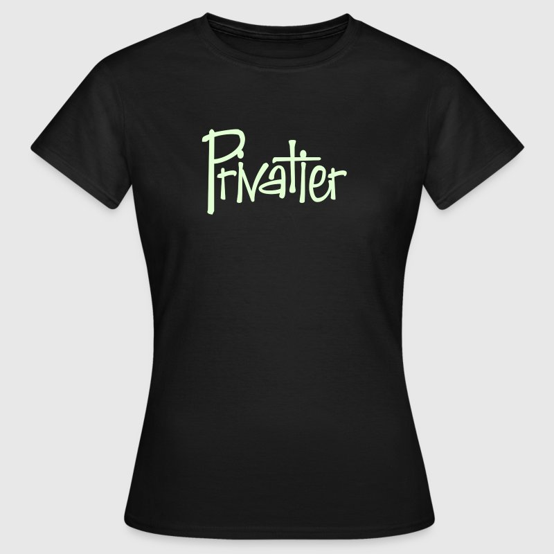 Privatier | B&C Frauen Shirt - Frauen T-Shirt