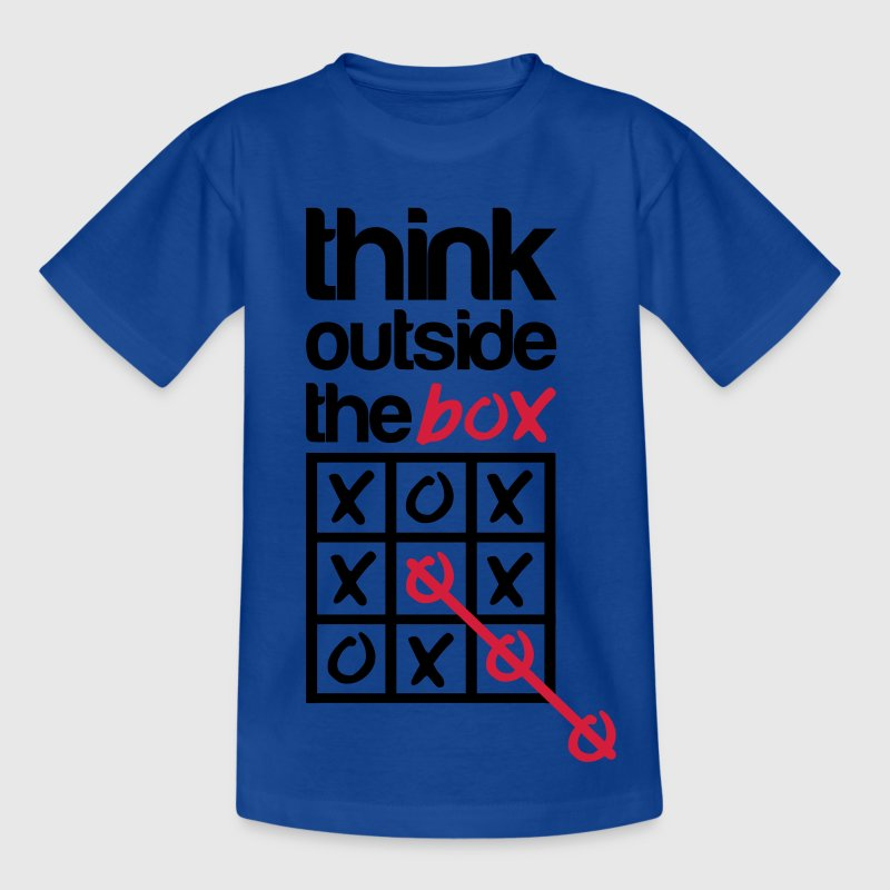 Think outside the box T-shirts - Børne-T-shirt