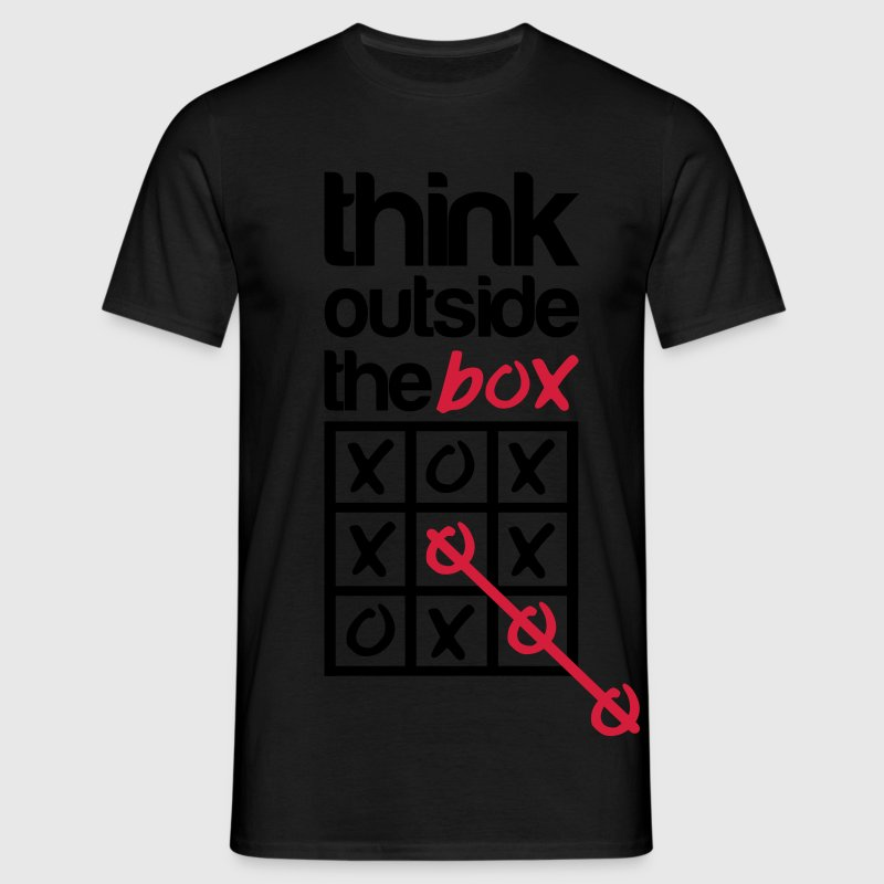 Think outside the box T-shirts - Mannen T-shirt