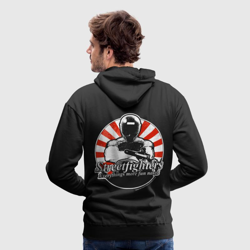 Streetfighters Hoodies & Sweatshirts - Men's Premium Hoodie