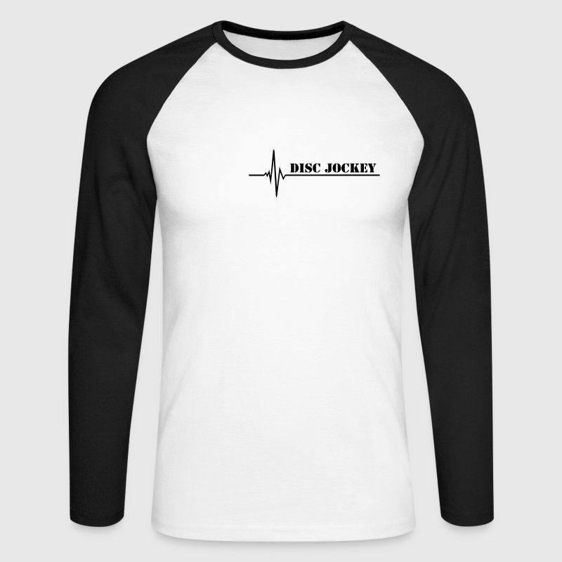 DJ Long sleeve shirts - Men's Long Sleeve Baseball T-Shirt