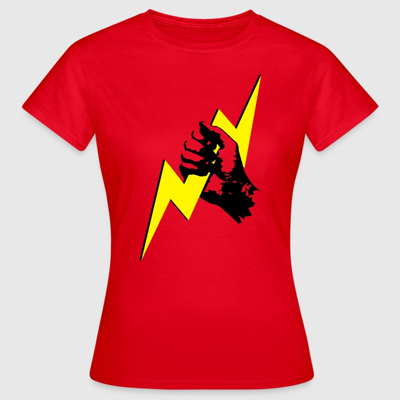 Zeus Blitz Hand Shirt for Girls - Frauen T-Shirt