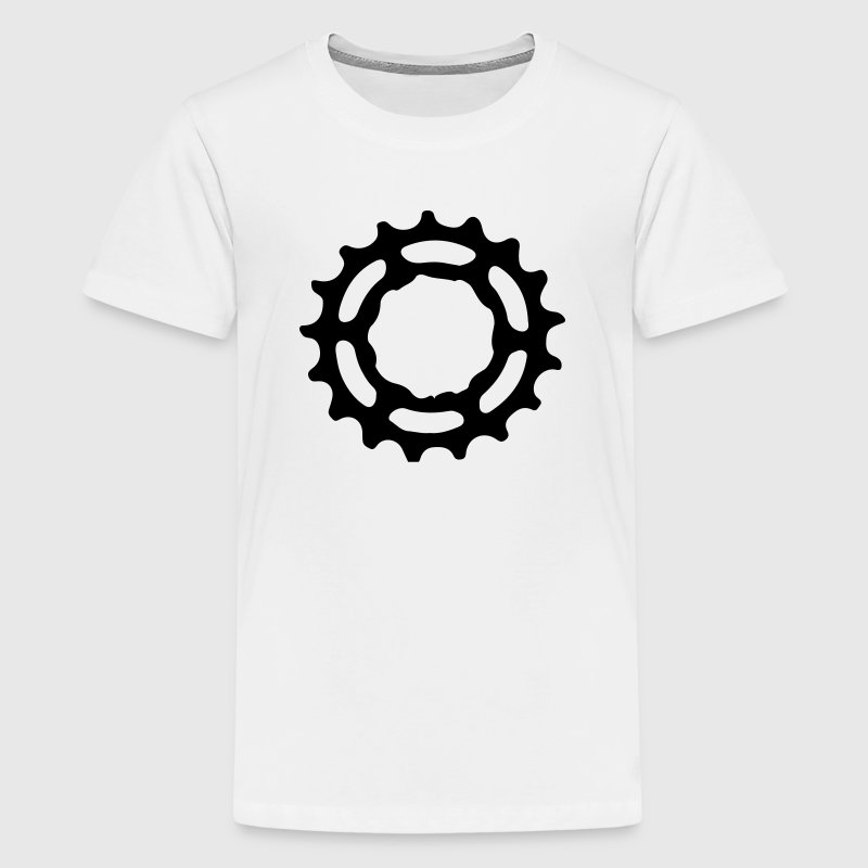 Mountain bike gear tandwiel tandwielen 1c. Shirts - Teenager Premium T-shirt