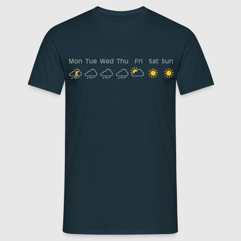 nice weekend weather T-Shirts - Men's T-Shirt