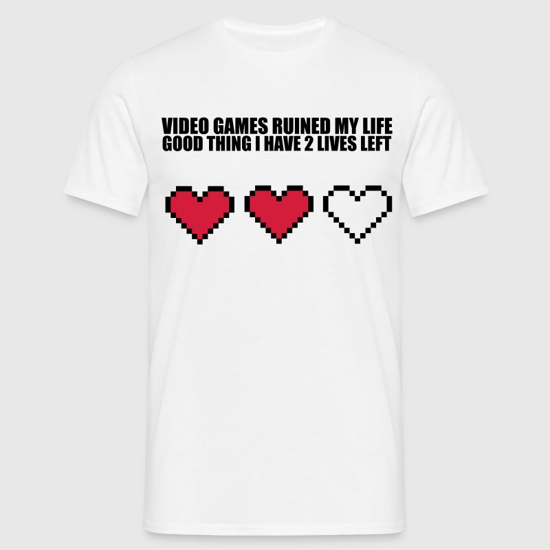 Extra Lives Tee shirts - T-shirt Homme