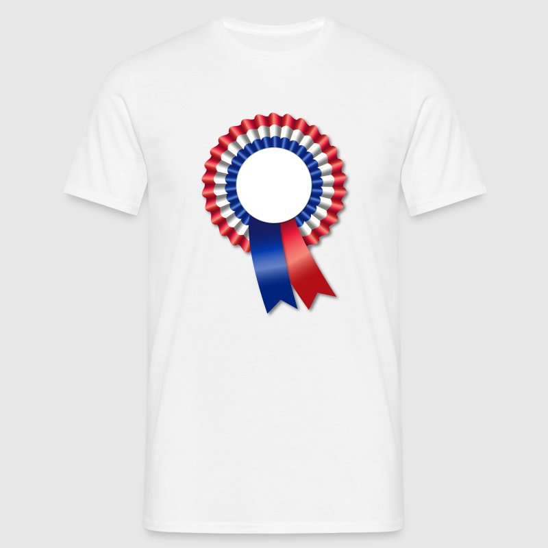 Tricolore Rosette Template T-Shirts - Men's T-Shirt