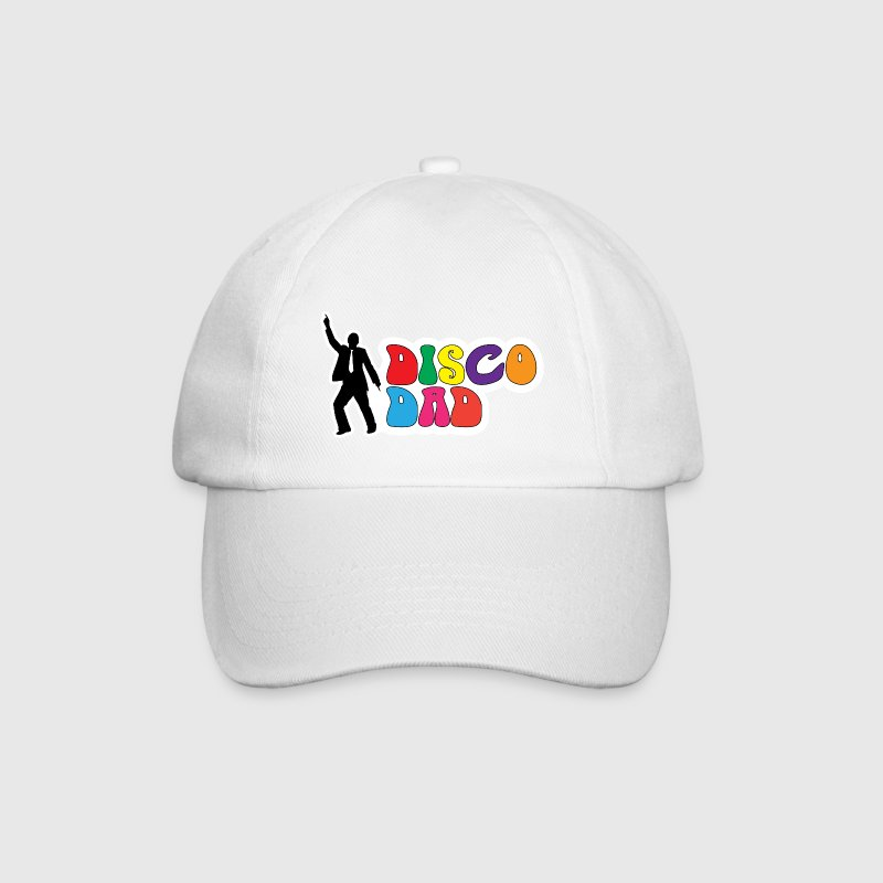 Disco Dad - Funny Gift for Dad Caps & Hats - Baseball Cap