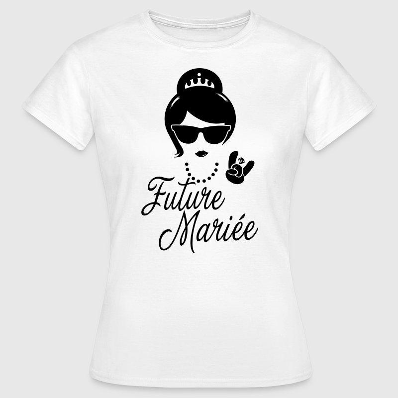Bevorzugt Tee shirt Future Mariée Enterrement Vie evjf Vintage hipster  QT29