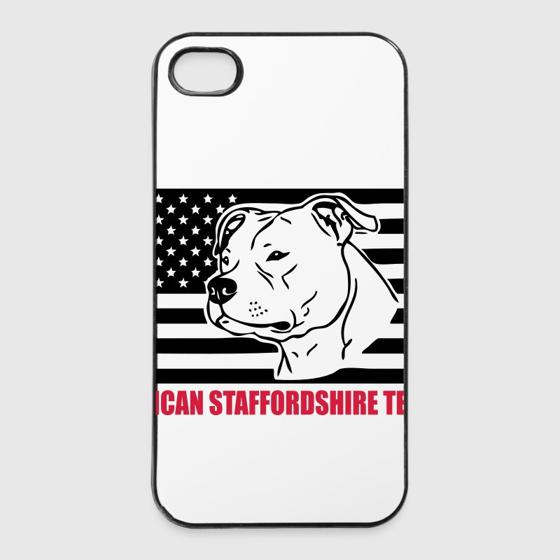 amstaff_flag_002 Sonstige - iPhone 4/4s Hard Case