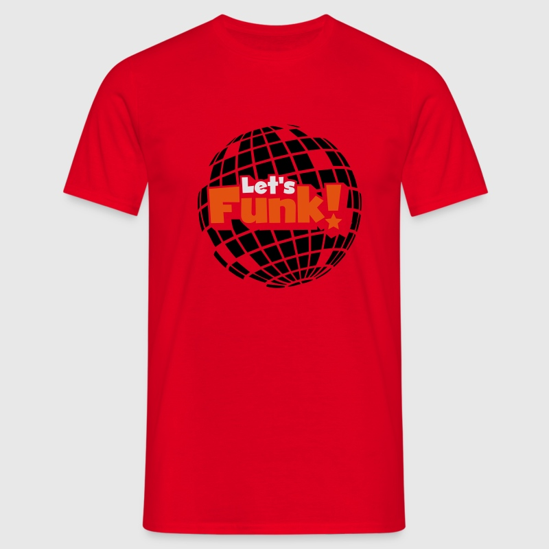 Disco ball Tee shirts - T-shirt Homme