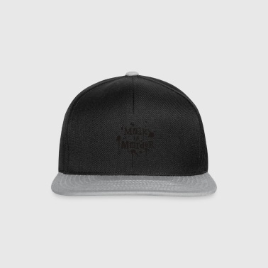 BIO-Stofftasche 'MILK is Murder' RB - Snapback Cap