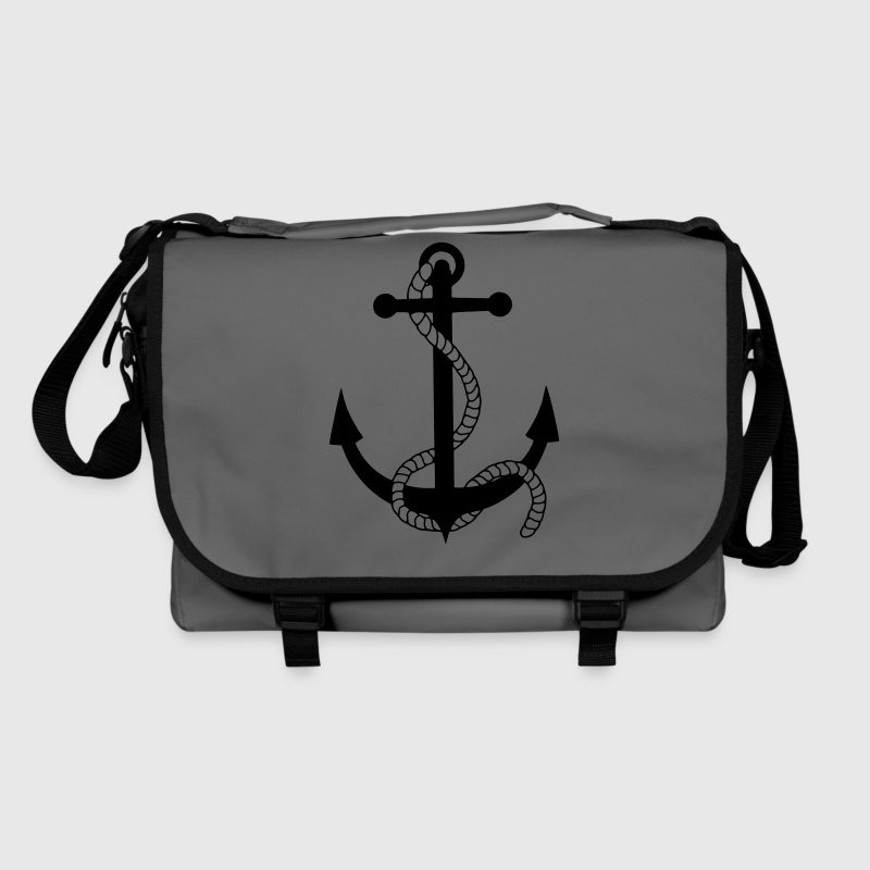 anchor harbour ship port sea sailor seaman sailing Bags  - Shoulder Bag