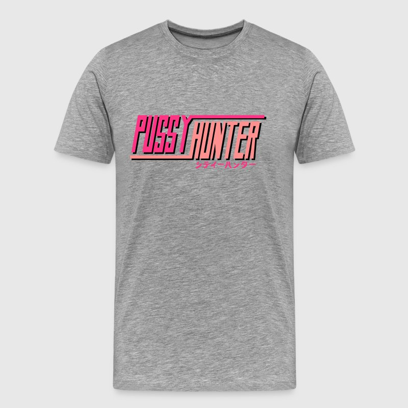 PUSSY HUNTER Tee shirts - T-shirt Premium Homme