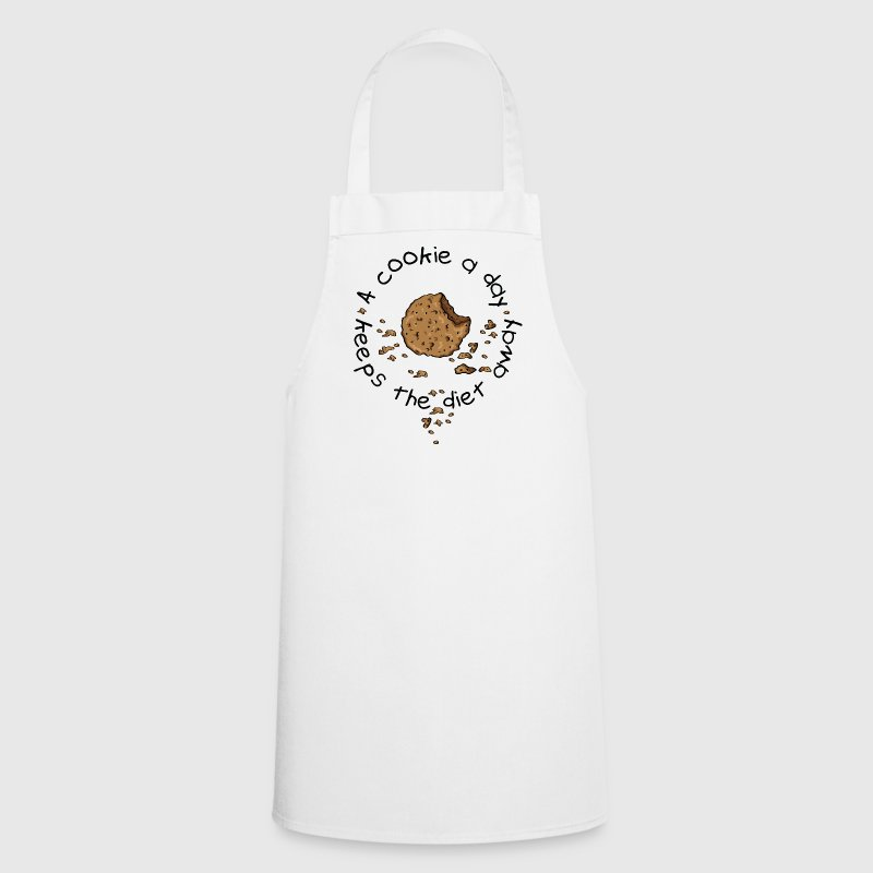 A cookie a day, keeps the diet away  Aprons - Cooking Apron