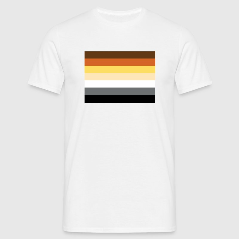 International Bears Flag - large - Men's T-Shirt