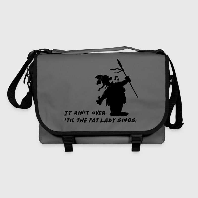 It ain't over 'til the fat Lady sings Bags & backpacks - Shoulder Bag