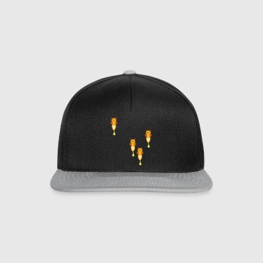 four funny fireflies Umbrellas - Snapback Cap