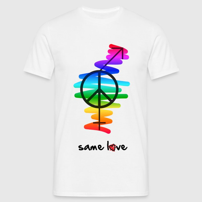 Same Love T-Shirts - Men's T-Shirt