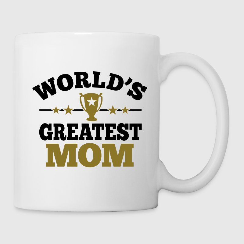 World's greatest Mom Flaschen & Tassen - Tasse