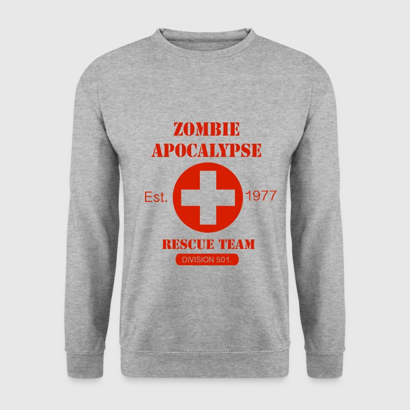 Zombie Apocalypse Rescue Team Sweat-shirts - Sweat-shirt Homme