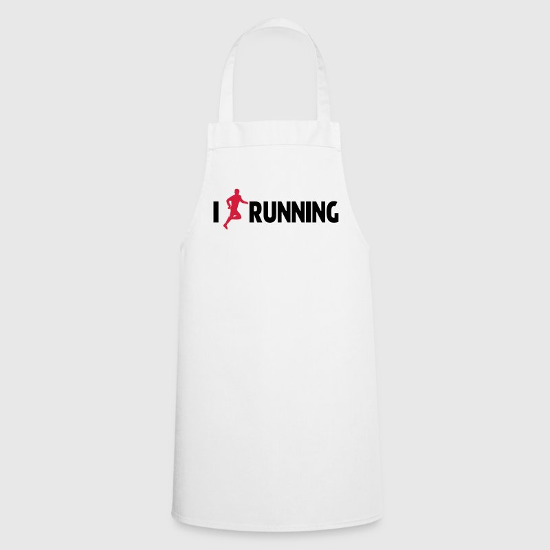 I Love Running  Aprons - Cooking Apron