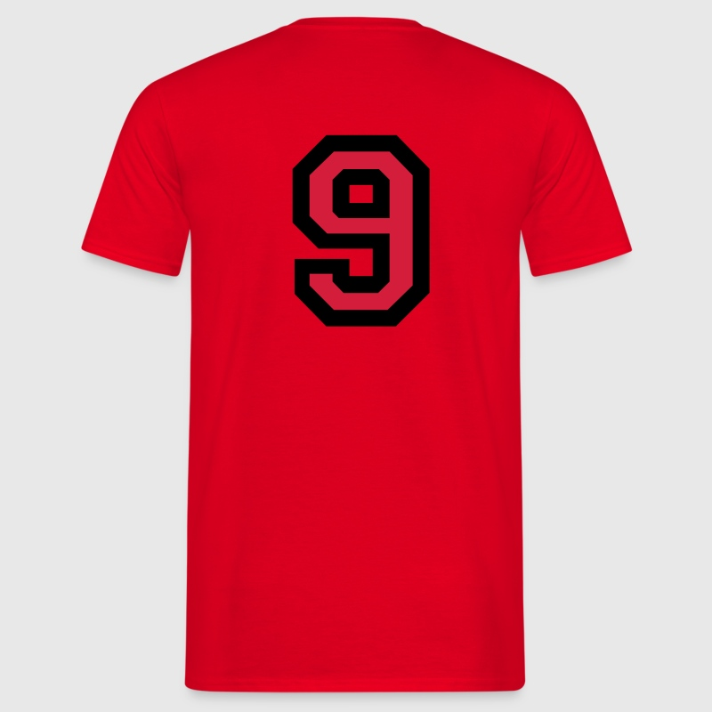 Number 9 T-Shirt - Men's T-Shirt