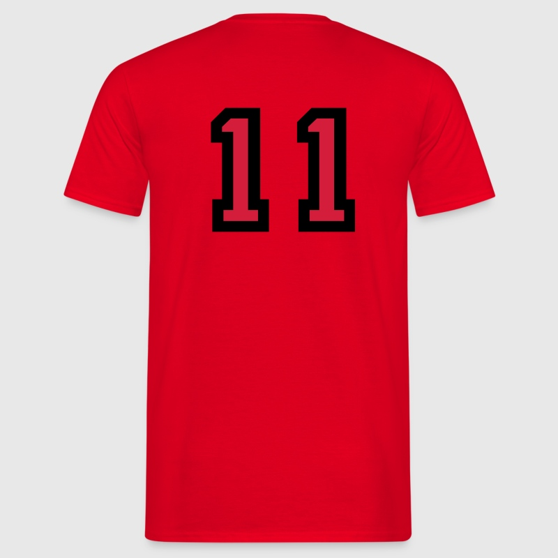 Number 11 T-Shirt - Men's T-Shirt