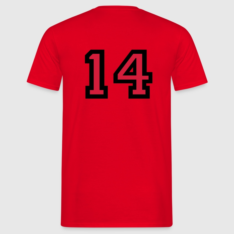 Number 14 T-Shirt - Men's T-Shirt