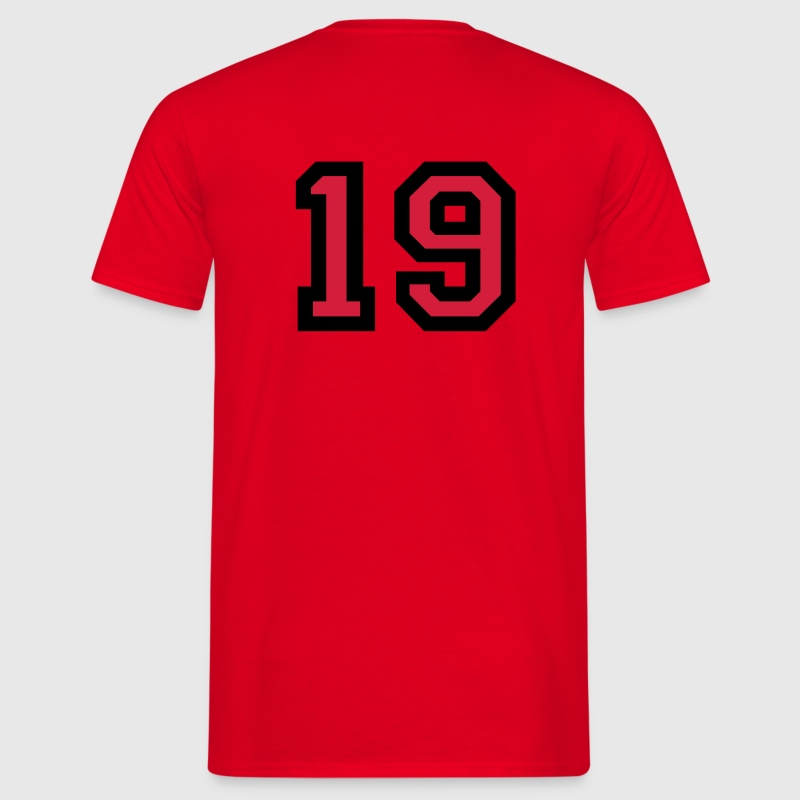 Number19 T-Shirt - Men's T-Shirt