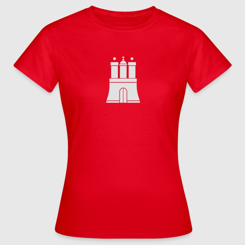 Hamburger Wappen Hamburg T-Shirt - Frauen T-Shirt