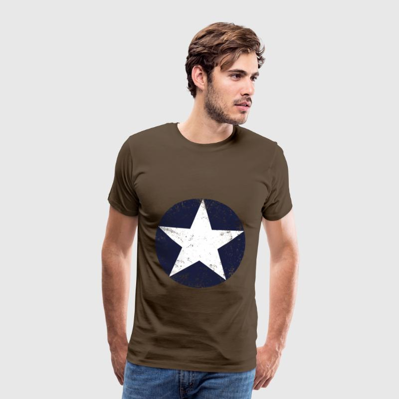 us air force star vintage T-Shirts - Men's Premium T-Shirt