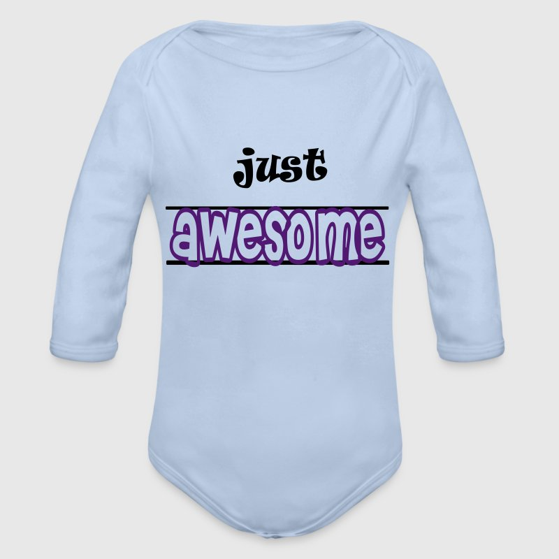 Just awesome Pullover & Hoodies - Baby Bio-Langarm-Body