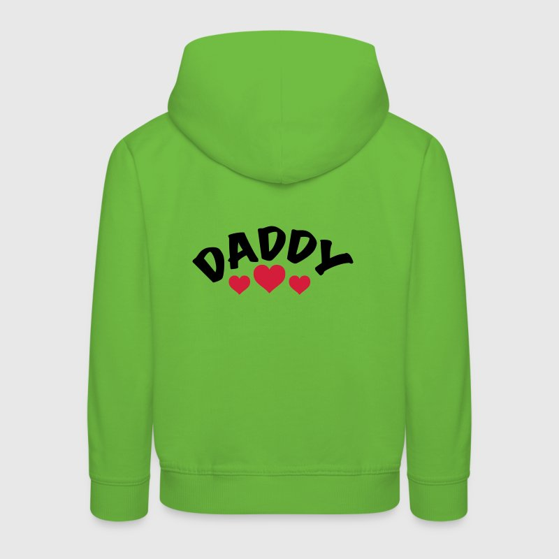 Dad / Daddy / Papa / Herz / i love my dad 2c Pullover & Hoodies - Kinder Premium Hoodie