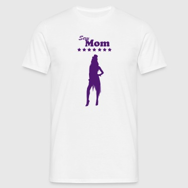 Sexy une maman Mom / Mami / Supermom / 1c Coques pour portable et tablette - T-shirt Homme