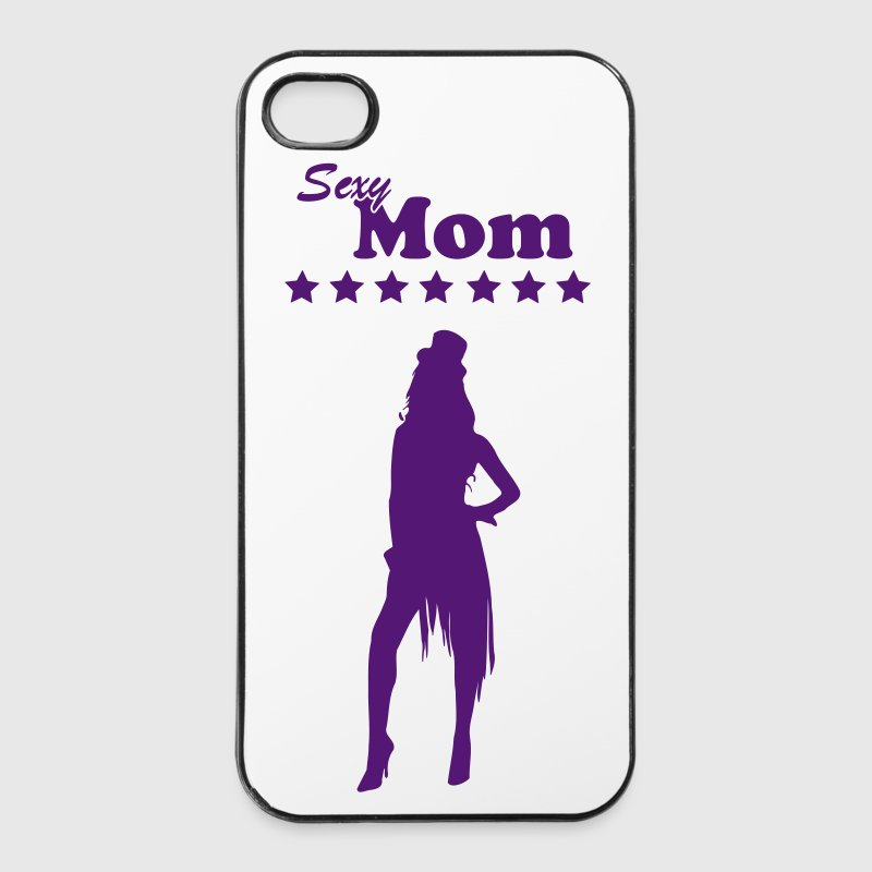 Sexet mor\/mor\/Supermom\/mor 1 c Mobil- og tablet-covers - iPhone 4/4s Hard Case