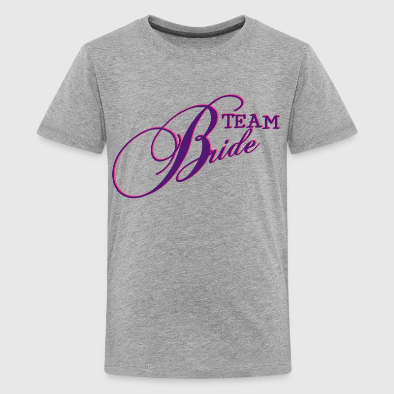 Team bride team braut jga 2c t shirt spreadshirt for Jga t shirt sprüche