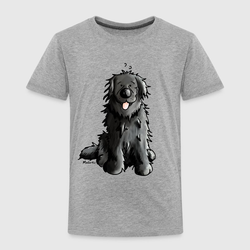 Newfoundland - Dog - Dogs - Newfi - Newf - Cartoon Shirts - Kids' Premium T-Shirt
