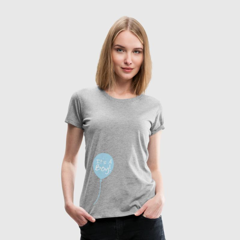It's a boy T-Shirts - Frauen Premium T-Shirt