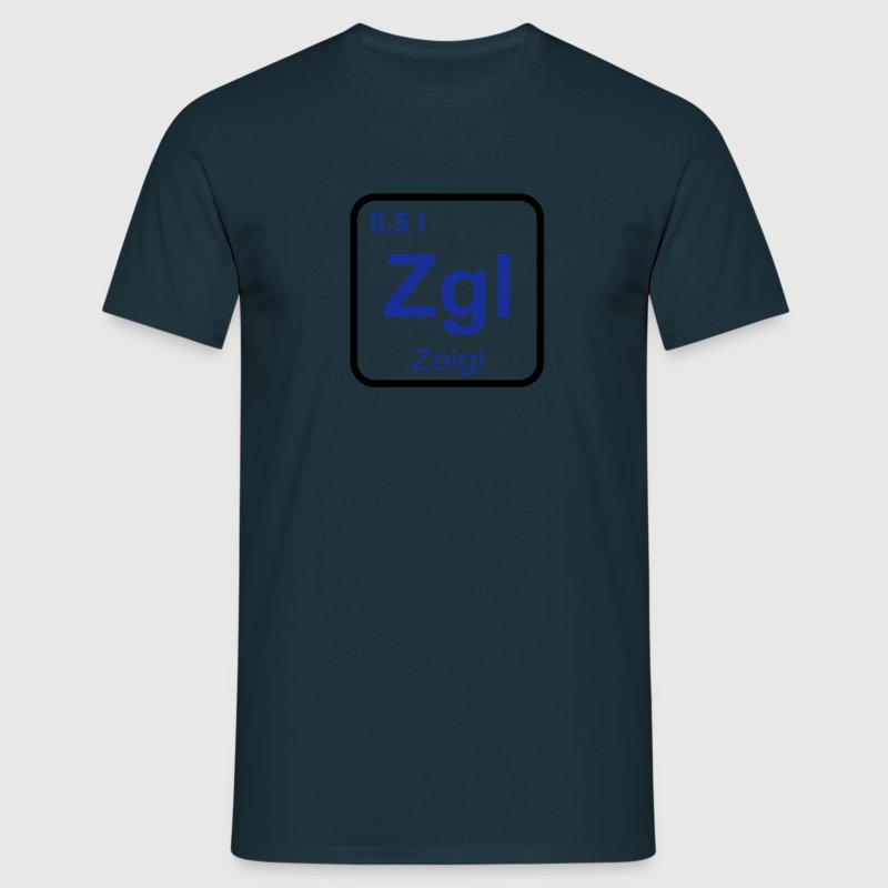Zoigl Element - Männer T-Shirt