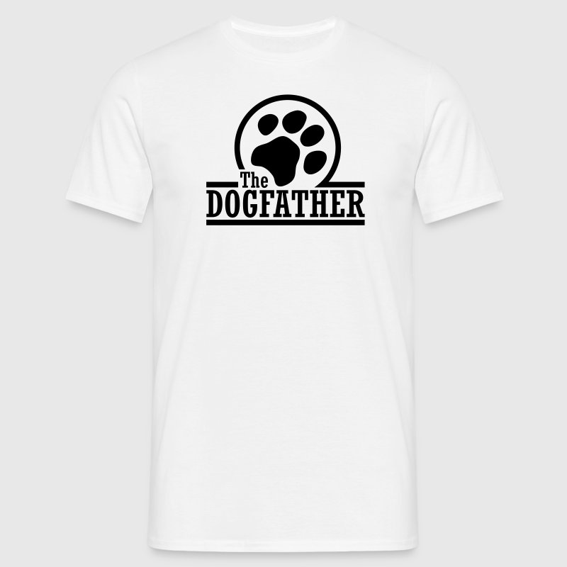 The Dogfather T-shirts - Herre-T-shirt
