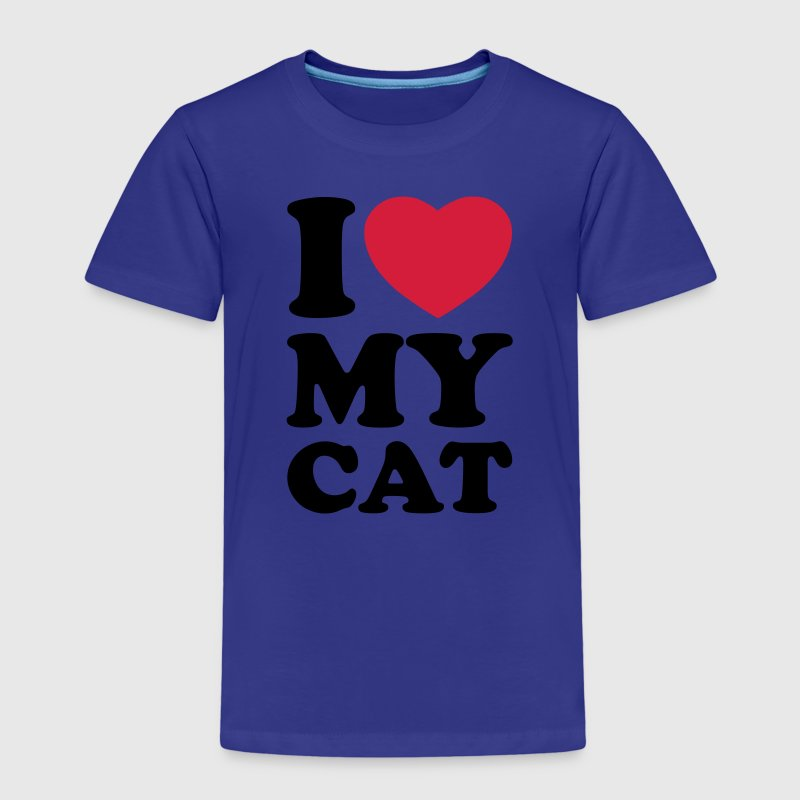 I love my cat Shirts - Camiseta premium niño