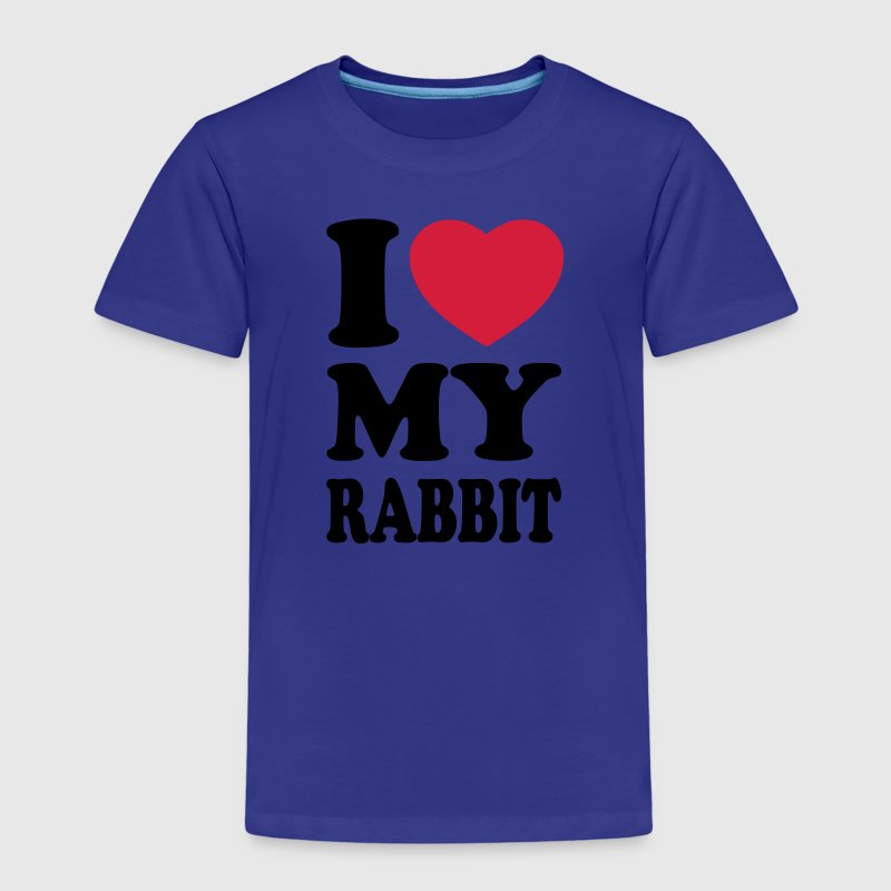 I love my rabbit Shirts - Camiseta premium niño