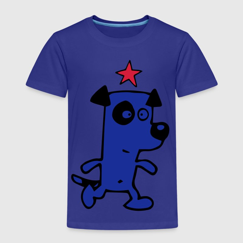 Hund Stern von Cheerful Madness!!  T-Shirts - Kinder Premium T-Shirt