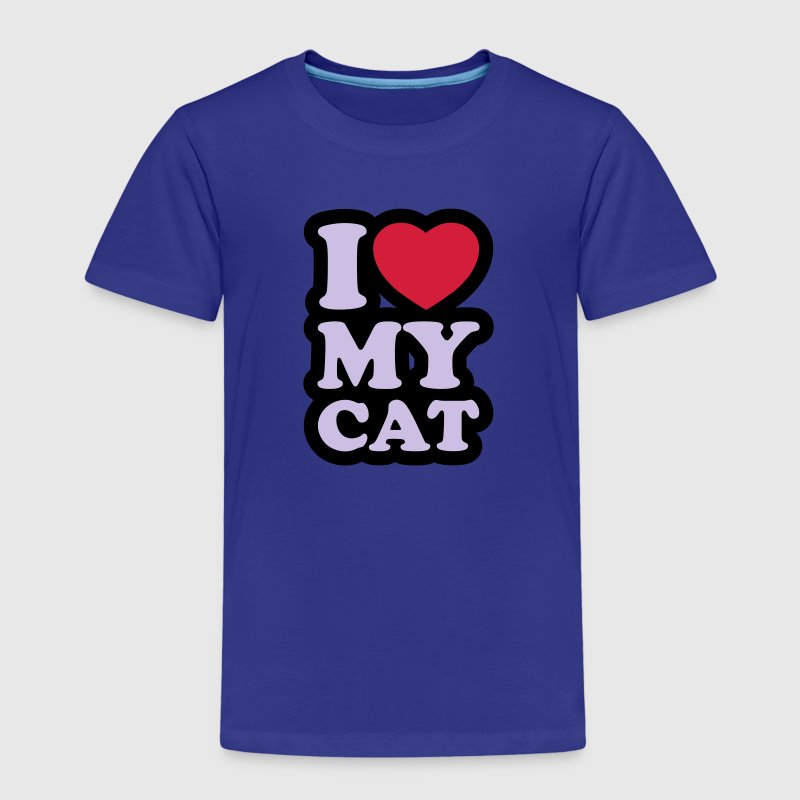 I love my cat - T-shirt Premium Enfant