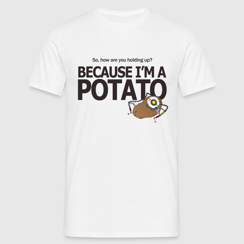 Portal Hello Potato - Men's T-Shirt