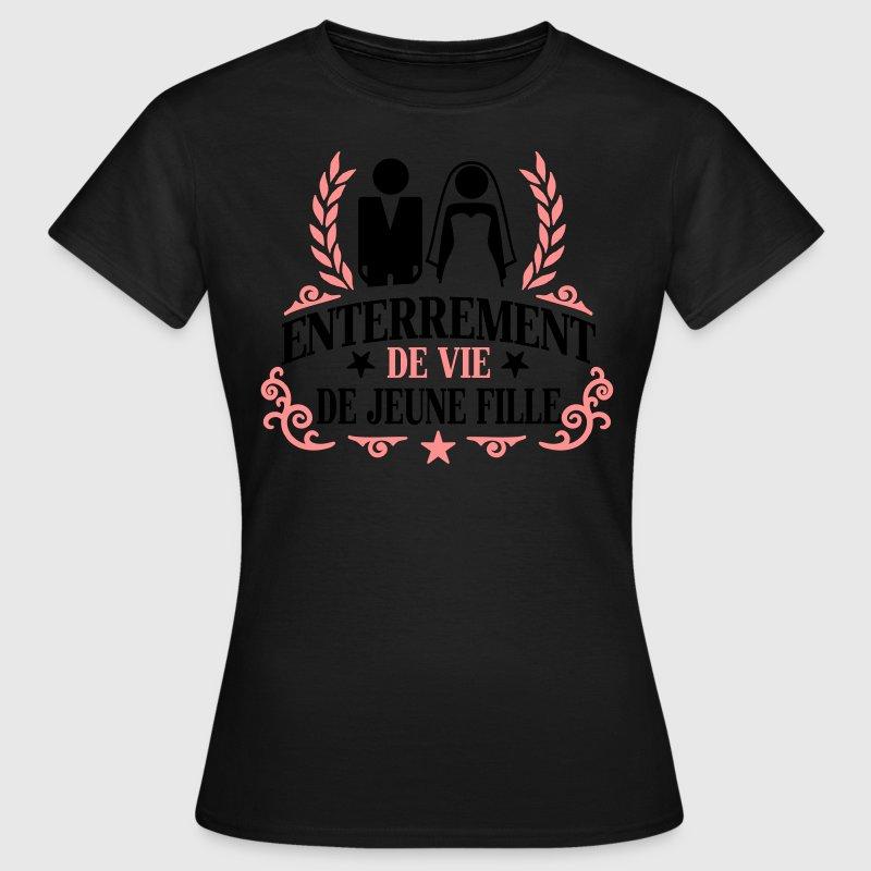 Célèbre Tee shirt Enterrement de vie de jeune fille | Spreadshirt BU34